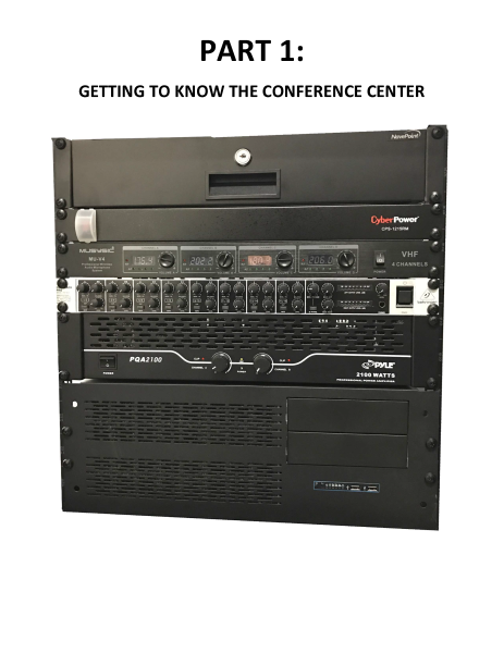 Tualitan Conference Center Audio Rack